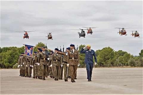 Relevo de Mando en el Batallón de Helicópteros de Emergecias II
